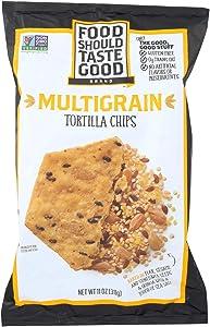 Food Should Taste Good Multigrain Tortilla Chips - Multigrain - Case of 12 - 11 oz.