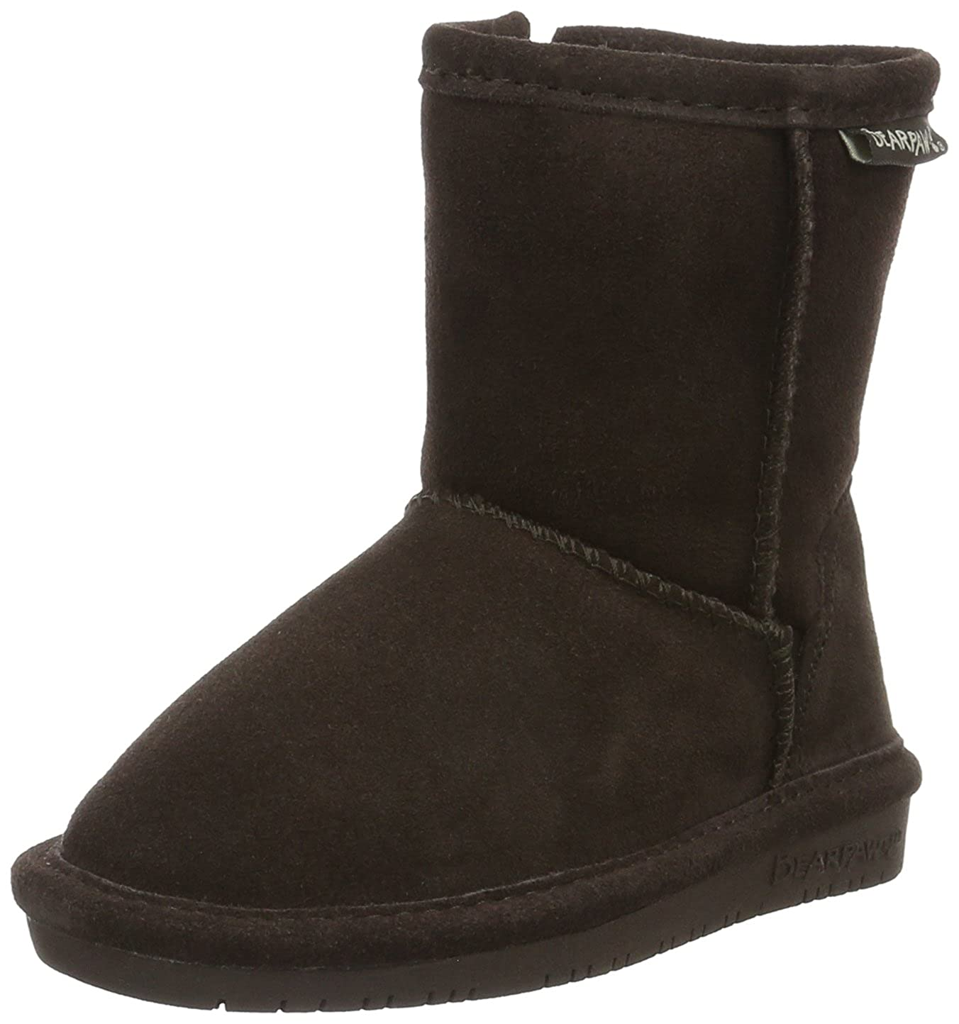 BEARPAW Kids' Emma Toddler Zipper Mid Calf Boot 608TZ