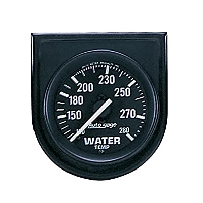 AUTO METER 2333 Autogage Water Temperature Gauge Panel: Automotive