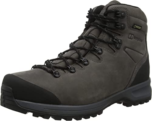 Mens GORE-TEX WATERPROOF Walking Hiking Safety Boots Black Steel Toe Size 11 UK