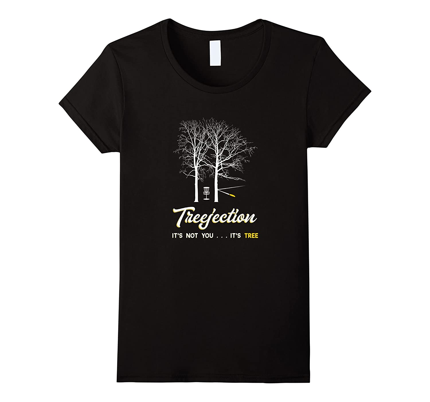 Treejection – Funny Disc Golf T-Shirt – Gift Tee Shirts