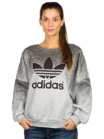 Womens adidas Originals Rita Ora Sweatshirt In Grey Black
