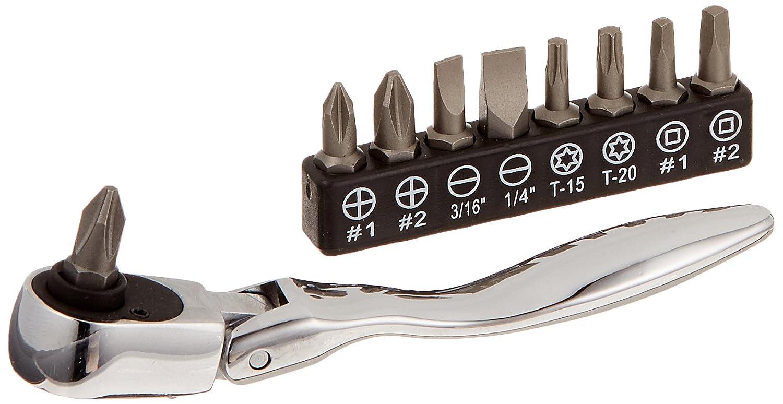 Titan Tools 11212 10-Piece Micro Flex Bit Driver