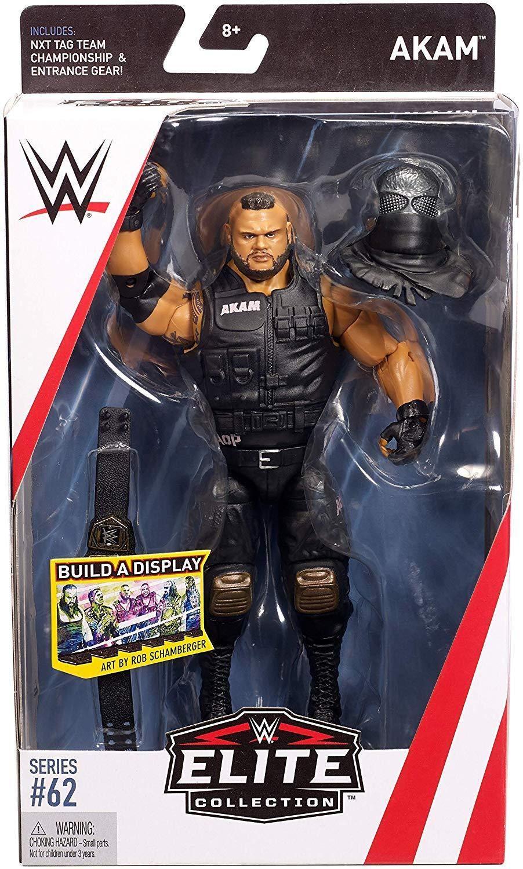 WWE Mattel Elite NXT Tag Team Championship Belt Figure Accessory
