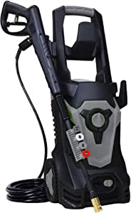 Vocanoo 1800 Watt 15A Electric Pressure Washer,Power Washer,Spray Washer with 4 Spray Tips and Powerful Motor - 4000PSI 3.0GPM(Gray)