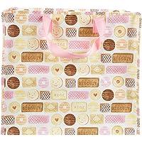 Sass & Belle Sac de rangement à fermeture éclair motif flamant rose