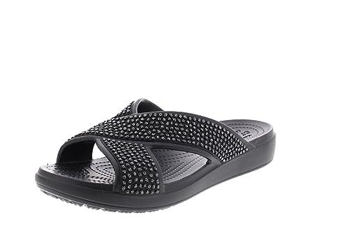 d90e47538361 Crocs Sloane Embellished Xstrap