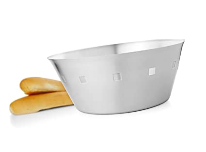 Buy Mosaic Bread Basket Square Hole In Stainless Steel Brb 02 S