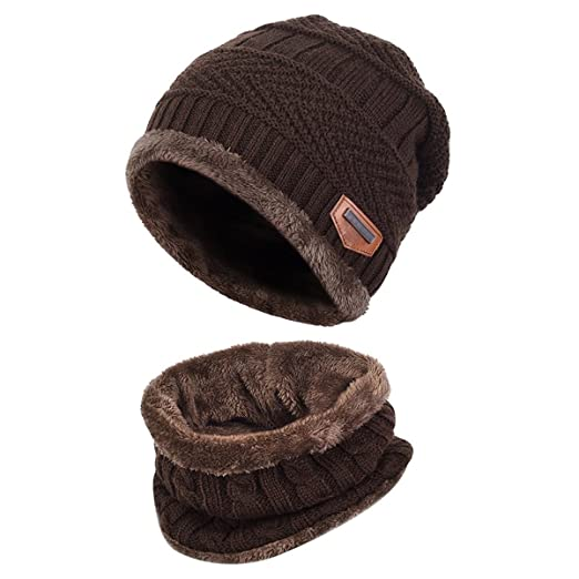 08b837e6acf Esther Beauty Ladies Women Winter Beanie Hats Cosy Fleece Liner Knitted  Wool Caps Skullies Warm Hats