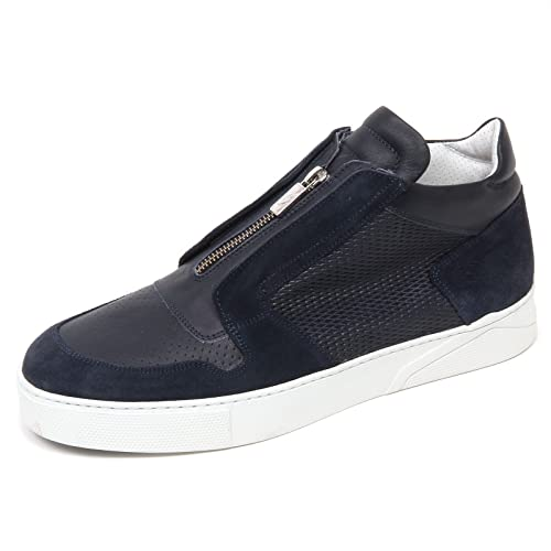 D0876 Sneaker Alta Uomo Guardiani Sport Truman Dark Blue