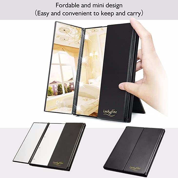 Portability of Best Lighted Makeup Mirror