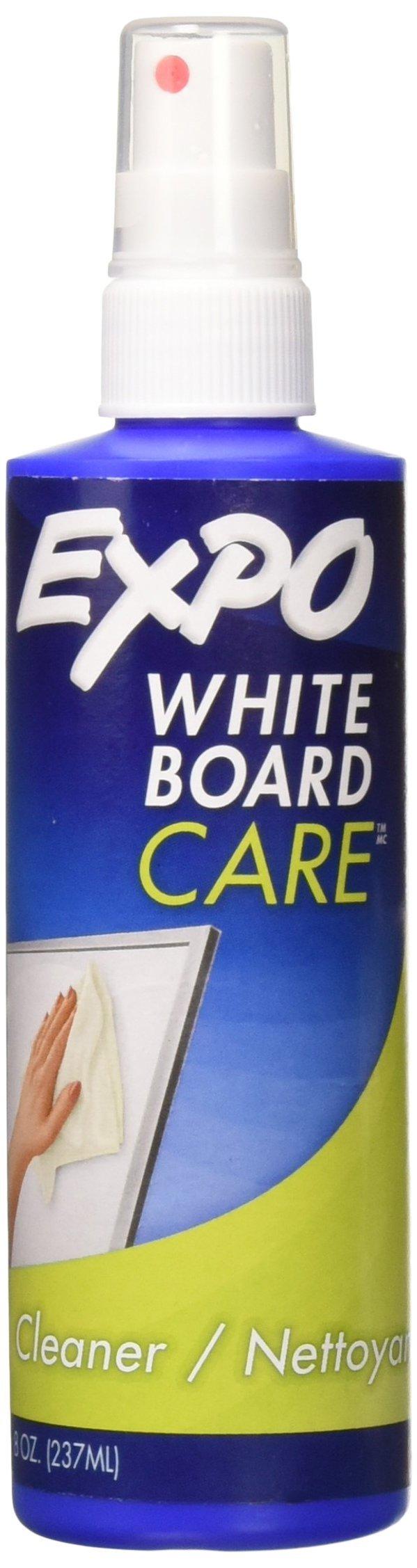 Dry Erase Surface Cleaner, 8oz Spray Bottle [Set of 2]