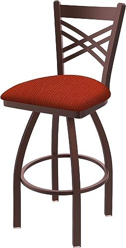Holland Bar Stool Co. 82036BZ021 820 Catalina Bar Stool, 36 Seat Height, Graph Poppy