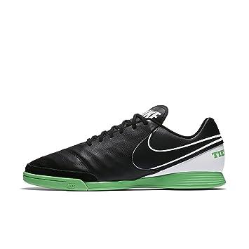 NIKE Tiempo Genio II Leather Indoor/Court Soccer Shoe (6.5)