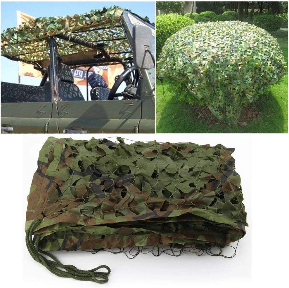 gr/ö/ße : 5m*10m SS Camouflage net Tarnnetz Verdicken Sie Dschungel-Tarnungs-Netz F/ür Feld-kampierendes Jagd-Schie/ßen-Sonnenschutz-Milit/ärnetz//Multi-Size