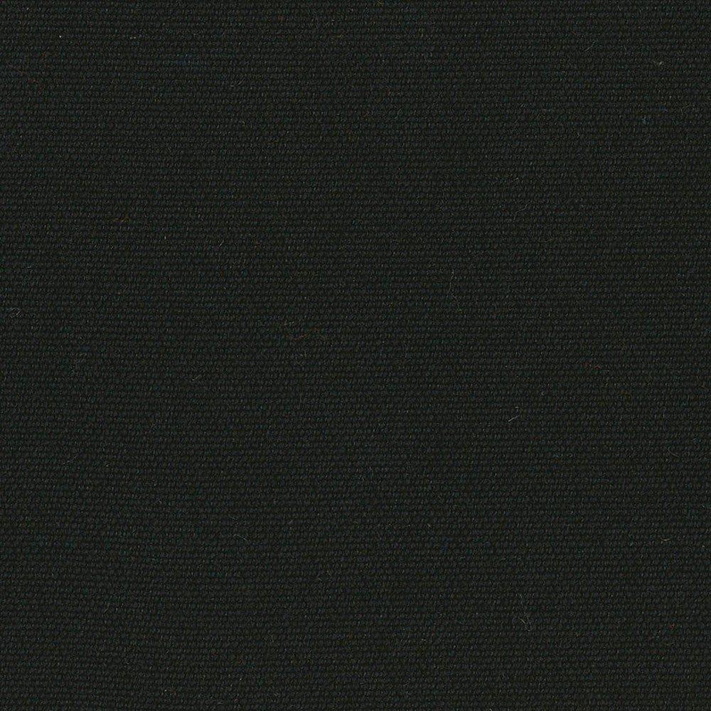 RSH Décor Set of 4 Indoor/Outdoor Square Throw Pillows Sunbrella Canvas Black (22'' x 22'')