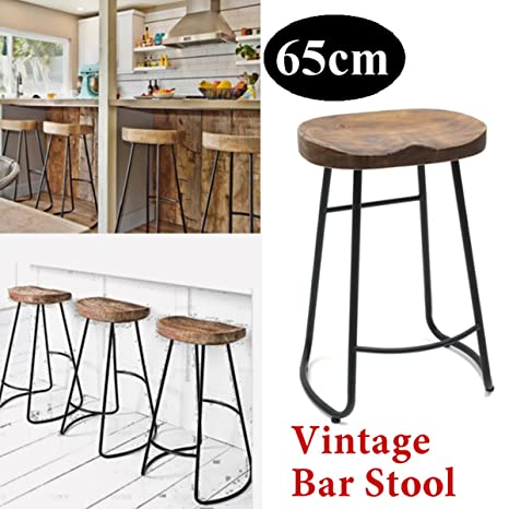 Cool Amazon Com Caveen Vintage Tractor Bar Stool Black And Gmtry Best Dining Table And Chair Ideas Images Gmtryco