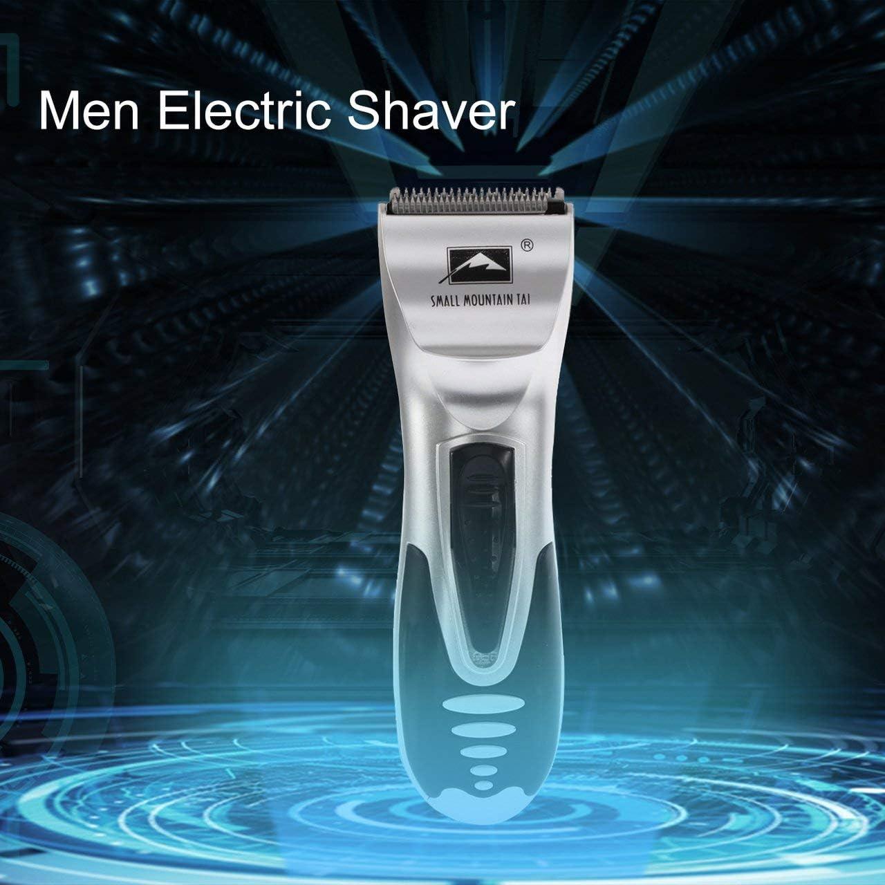 Maquinilla de afeitar eléctrica para hombres, recortadora de barba ...