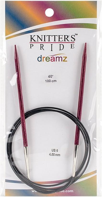 40 Knitters Pride 11//8mm Dreamz Fixed Circular Needles