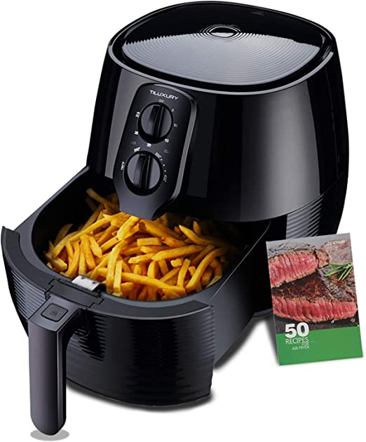 Amazon.com: Air Fryer XL, 5.8QT freidora eléctrica grande ...