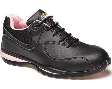 Dickies FD13905-5 - Zapatillas de seguridad para mujer, talla 5, color negro