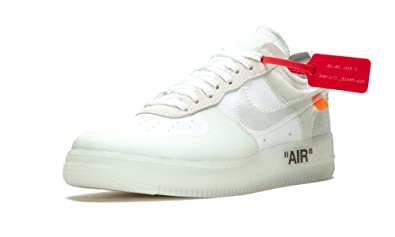 Nike Air Force 1 Low Off White Schuhe Sneaker Neu The 10: Amazon.de ...