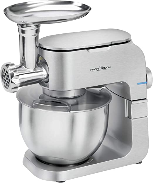 ProfiCook PC-KM 1151 1151-Robot de Cocina, 1300 W, Aluminio, 8 ...