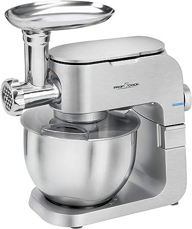ProfiCook PC-KM 1151 1151-Robot de Cocina, 1300 W, Aluminio, 8 Velocidades, Acero inoxidable: Amazon.es: Hogar