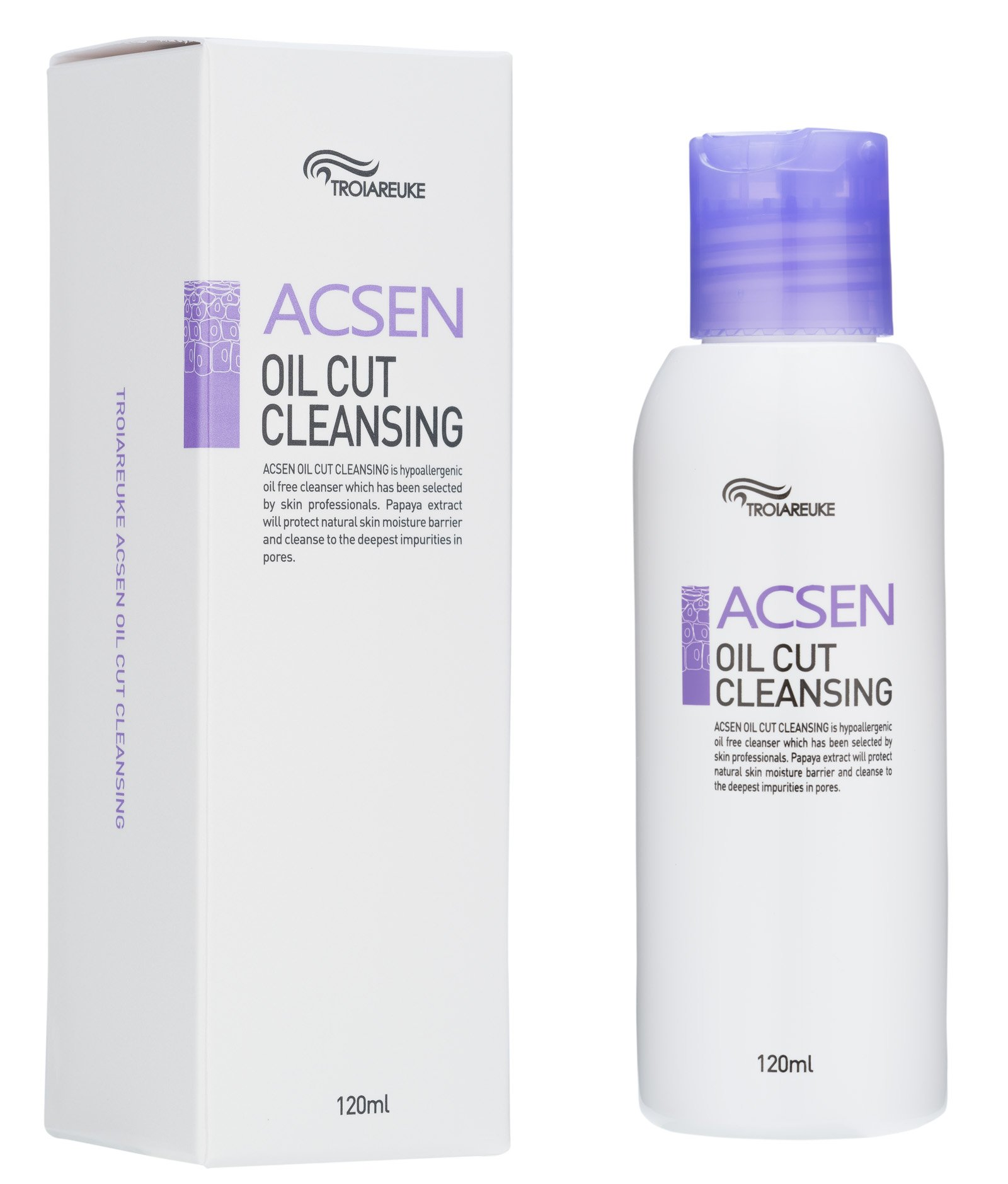 [TROIAREUKE] ACSEN Oil Cut Cleansing 120ml / All in One Cleanser