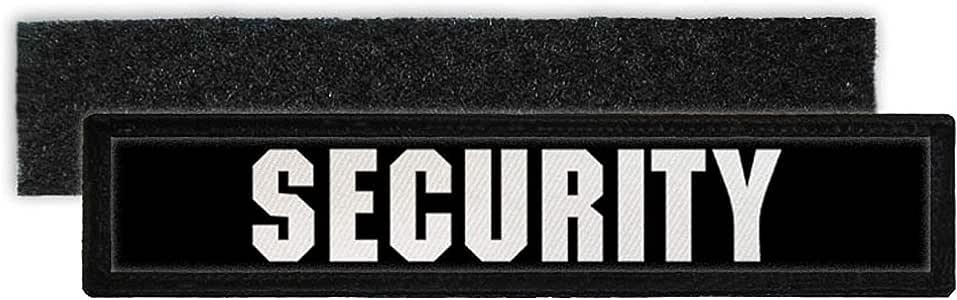 Copytec Patch Security Namensschild Seguridad Servicio Carpeta Bodyguard Parche Uniforme Ropa identificador Velcro Negro # 23783: Amazon.es: Juguetes y juegos