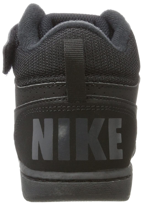 buy popular 194e3 7b129 Nike Court Borough Mid (PSV), Chaussures de Basketball Garçon, Noir Black  001, 13 Child UK  Amazon.fr  Chaussures et Sacs