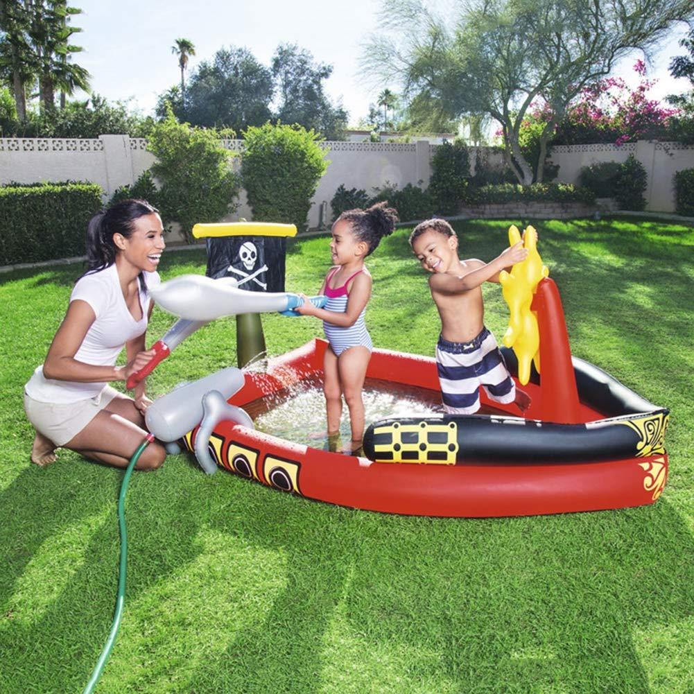 Nuevos productos de artículos novedosos. BABI Piscina Inflable Inflable Inflable Familiar del Centro de natación, 75 X55 X38, Adecuada para niños Mayores de 3 años  bienvenido a elegir