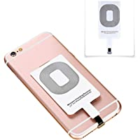 TKOOFN QI Wireless Receiver Adapter Slim Card for iPhone 7 7P 6 6P 5S SE
