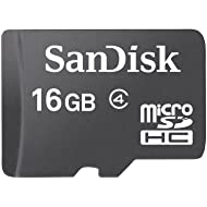 16GB Sandisk microSD Flash Memory Card + SD Adapter