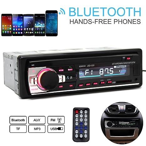 amazon com guteauto jsd 520 12v car radio bluetooth remote controlimage unavailable image not available for color guteauto jsd 520 12v car radio bluetooth