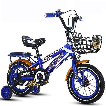 Bicicletas para niños JCOCO Freestyle, 14 Pulgadas niños y niñas de 3-6 años