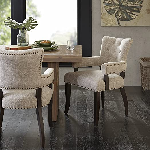 INK IVY Dining Arm Chair Set of 2 See Below/Cream