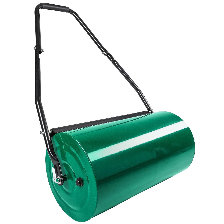 TecTake Heavy duty metal garden grass roller   roll width: 60 cm   roll Ø: 31 cm   filling capacity: approx. 50 L