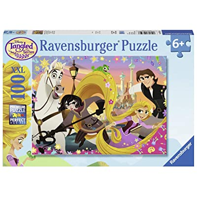 Ravensburger 10750 Disney Tangled TV Series - 100 Piece Jigsaw Puzzle for Kids – Every Piece is Unique, Pieces Fit Together Perfectly, Multi: Toys & Games
