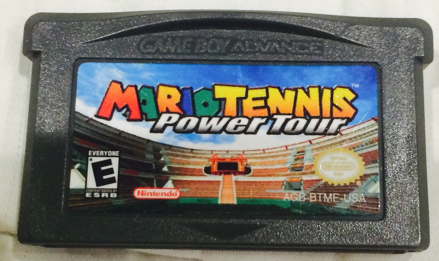 Mario tennis download gba   Mario Power Tennis (Europe) GBA