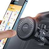 【Screw-Locking】Sturdy Magnetic Phone Holder for Car Air Vent【Phone Case Friendly】6-Strong Magnets Cell Phone Car Mount【Meet S