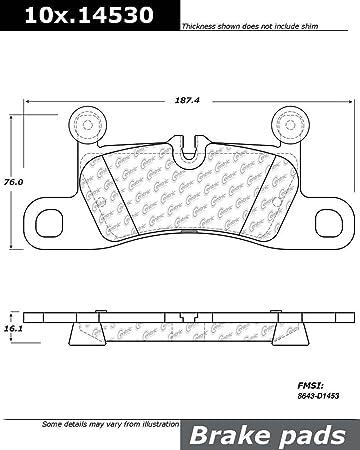 thegymyarraville.com.au StopTech 104.14790 Brake Pad Semi-Metallic ...