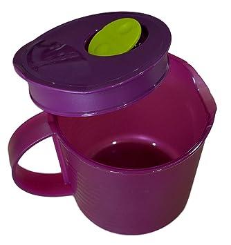 Tupperware Crystal Wave jarra 1 litro | microvawe utensilios de cocina | microvawe contenedor | Juego