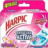 Harpic Canastilla Frescura Activa para Baño Floral, 35g