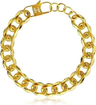 Goldrone Link Bracelet Vintage 6 12 in