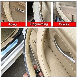 For BMW 3 Series E90/E91 Door Pull Handles + Door Handle Outer Cover,Passenger Side Door Clasp Handle & Door Pull Outer Trim Covers (Fits:BMW 323 325 328 330 335) (Right Side, Beige) (Color: Beige, Tamaño: Right Side)