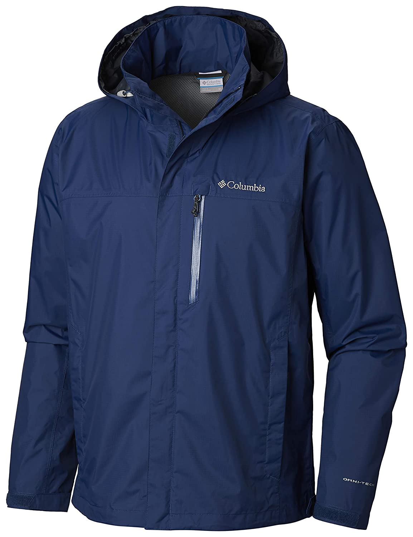 Carbon Medium Columbia Mens Pouration  Jacket