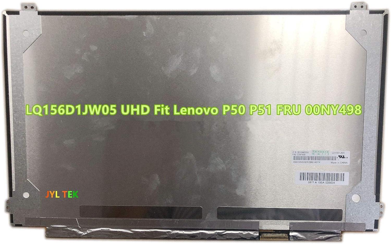 "4K 15.6/"" UHD LAPTOP LCD SCREEN f Lenovo thinkpad P51 20HH 3840X2160 NON-TOUCH"
