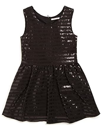 2df3234e8000e MONOPRIX KIDS - Robe Sequins - Fille - Taille   8 Ans - Couleur   Noir