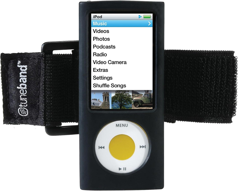 Black Grantwood Technology TuneBand Armband for iPod Nano 5th ...